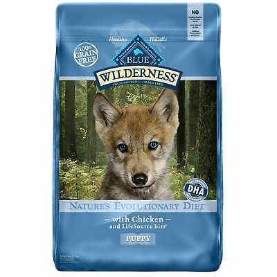 Blue Buffalo Wilderness Chicken Dry Puppy Food, 11 lbs.