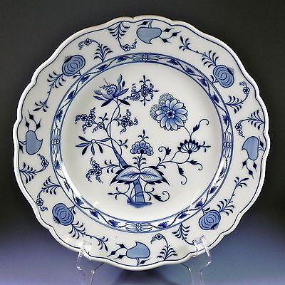 """Meissen Blue Onion 13"""" Chop Plate Round Platter 1 of 2  #27, #46"""