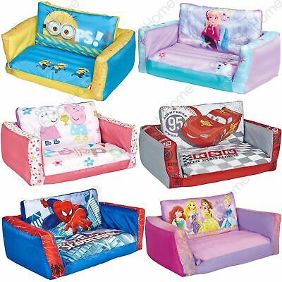 FLIP OUT SOFA RANGE INFLATABLE KIDS ROOM NEW MINIONS, FROZEN PAW PATROL + MORE!