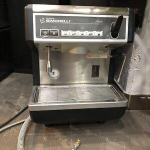 Used one group Apia I espresso machine