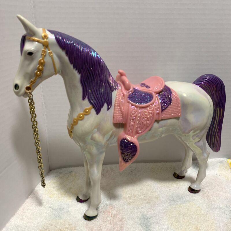 "Disney on Ice Horse Iridescent Pink Purple Souvenir Toy 10"" Collectible"
