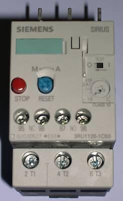 Siemens 3ru1126-1cb0 Overload Relay