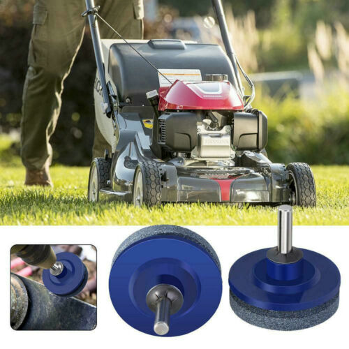 1Pc Lawn Mower Sharpener Faster Blade Grinding Power Drill Garden Tool Universal Home & Garden