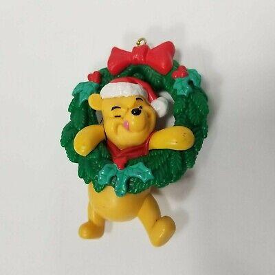 Disney Winnie the Pooh in Wreath Xmas Ornament Decoration Decor Gift