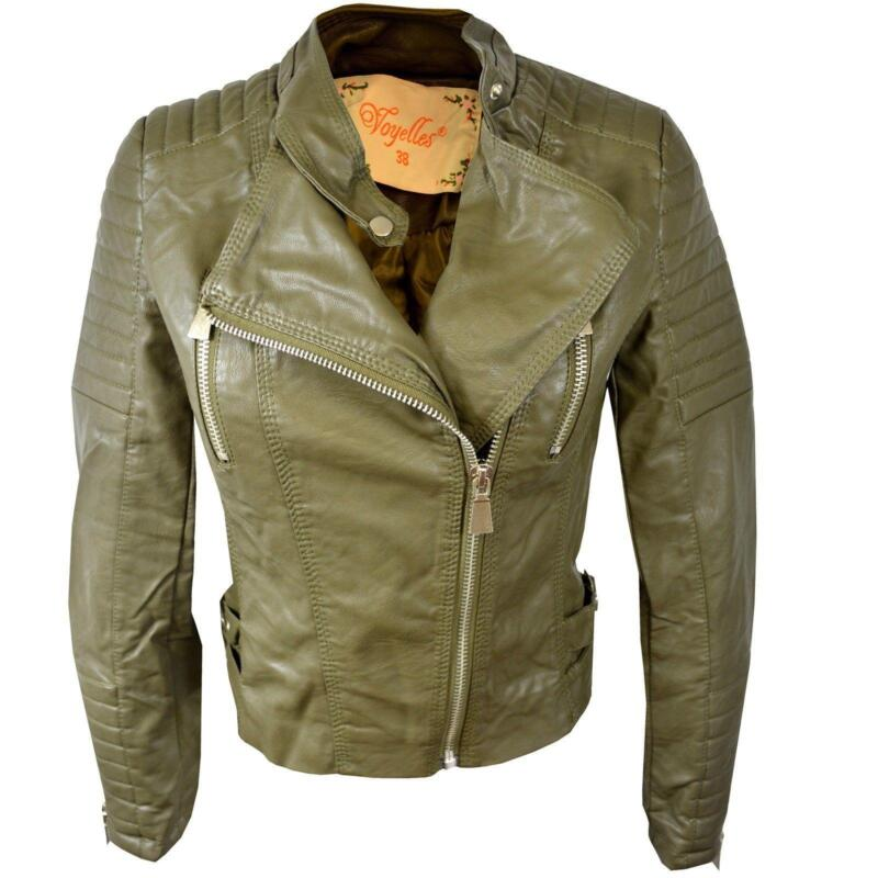 Cropped Leather Jacket | eBay