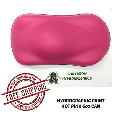Hydrographic Film Hydro Dip Kit Paint Base Coat 6oz Aerosol Hot Pink