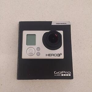 *BARELY USED* GOPRO HERO 3+ BLACK EDITION (w/ mounts) Applecross Melville Area Preview