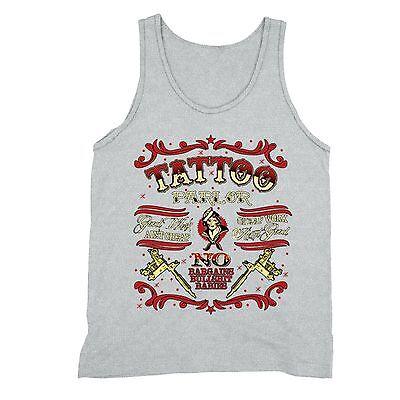 Tattoo Parlor Tanktop Body Art Good Work Bargains Bullsh*t Artist Inked