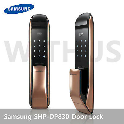 Samsung SHP-DP830 Digital Smart Door Lock Touch Pad Home Security System