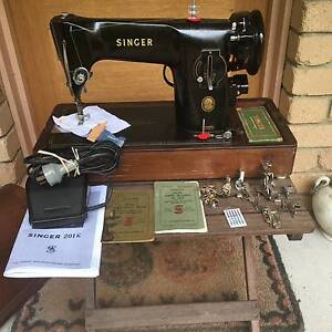 Singer Sewing Machine 201K Serviced & in Top Working Condition Buderim Maroochydore Area Preview
