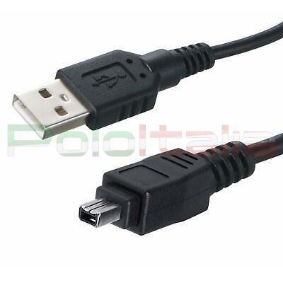 Cable USB Firewire Para Videocámara Cámara Digital JVC Nikon Canon
