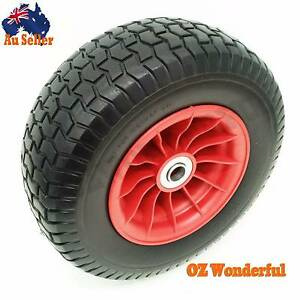 "1"" Double BRY Solid Wheel 16 x 6.5 x 8 Trolley Wheelbarrow Wheel Epping Whittlesea Area Preview"