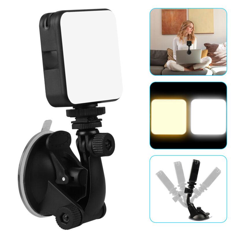 360° Video Conference Lighting Kit USB LED Light Adjustable for YouTube Camera