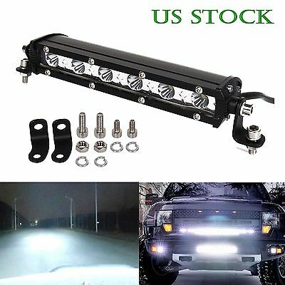 1x 7 inch 18W Cree Led Work Light Bar Spot Suv Boat Fog/Driving Lamp Offroad 4WD