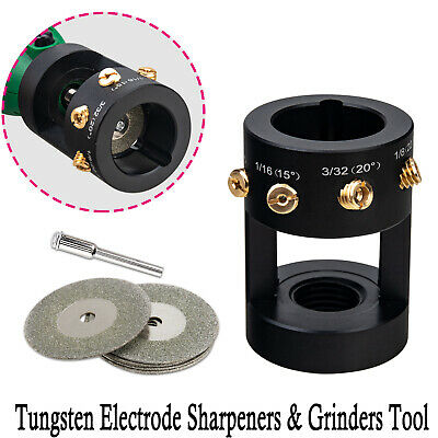 Tungsten Grinder Multi-angle Offsets Head Tool Tig Welding