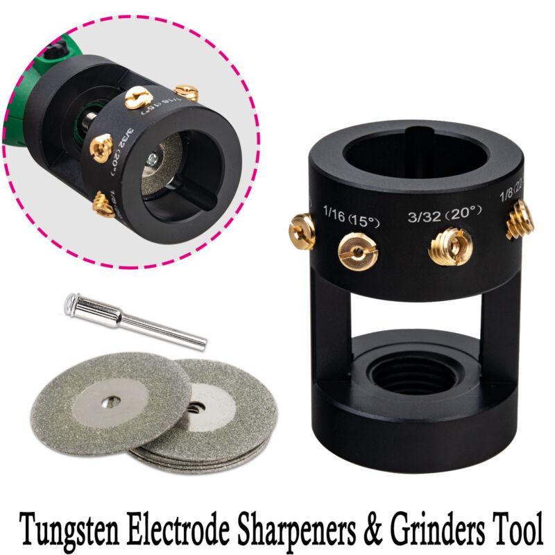 Tungsten Grinder Sharpener Multi-Angle & Offsets Head Tool TIG Welding