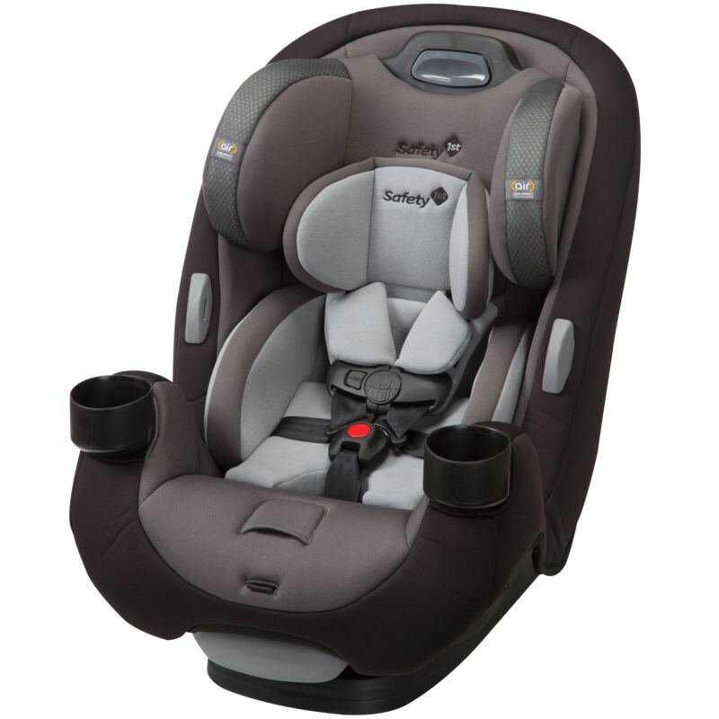 Safety 1st MultiFit EX Air All-in-One Convertible Car Seat, Amaro Grey, Amaro