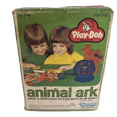 Play doh animal ark 1979 Kenner NEW Old Stock Unopened Rare HTF