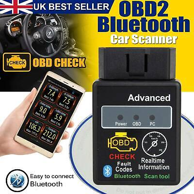 New Torque Android OBD OBD2 V2.1 Advanced Bluetooth Car Auto Diagnostic Scanner