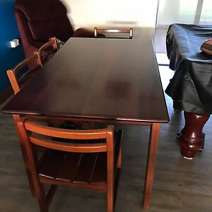 Dining suite 6 seater solid jarrah Halls Head Mandurah Area Preview