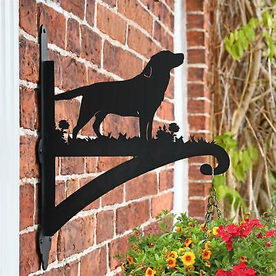 New Labrador Iron Hanging Basket Bracket
