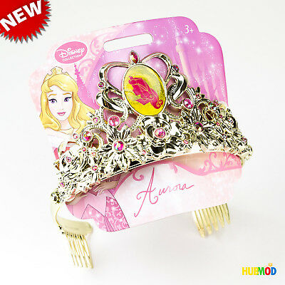 Disney Princess Aurora Sleeping Beauty Gold Color Jeweled Tiara One Size Child](Princess Aurora Tiara)