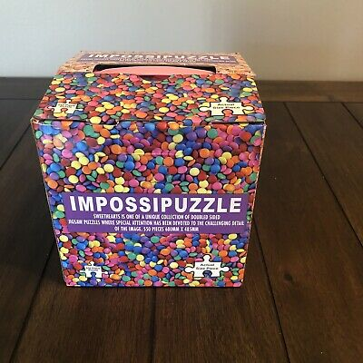 ImpossiPuzzle SweetHearts Collection Double Sided Jigsaw 550 piece~L@@K!!!!