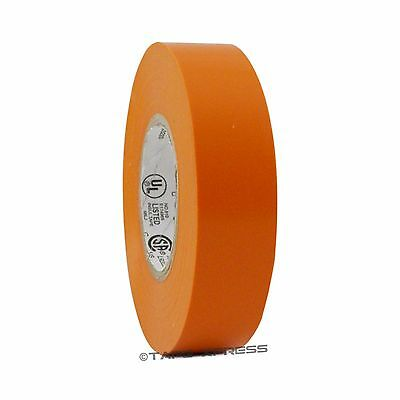 1 Roll Orange Vinyl Pvc Electrical Tape 34 X 66 Flame Retardant Free Shipping