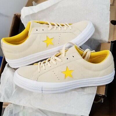 Converse One Star Ox Suede Vanilla Solar Polar White Converse One Star Suede
