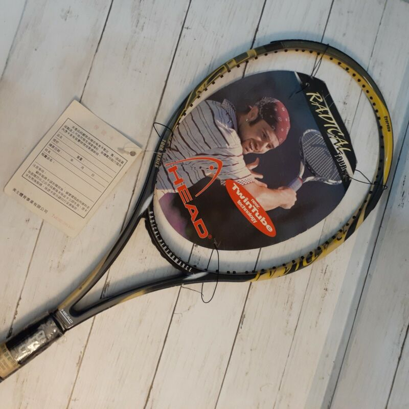 NEW Head Radical Tour, Twin Tube, Oversize  690cm2 Tennis Racket Andre Agassi