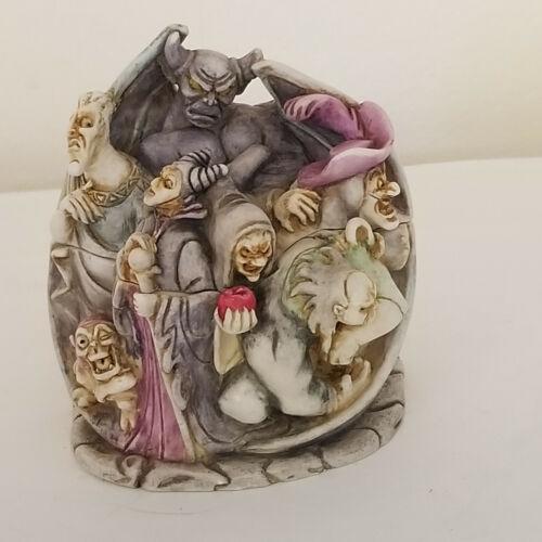 Harmony Kingdom Wicked Ways Disney Villains Limited Edition Trinket Box 2000 VTG