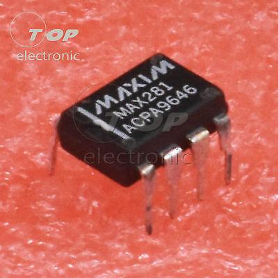 1pcs5pcs Max281acpa Max281 Dip-8 Zero-errorbessel Lowpass Filter