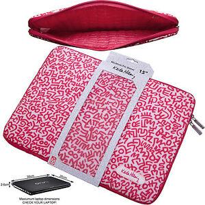 Macbook Pro Retina 15 Case Sleeve 15.4 Inch Slip Cover Laptop Pink Red Designer