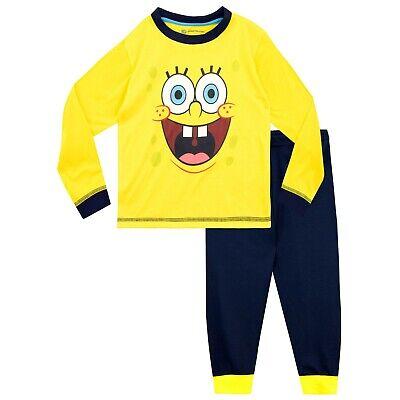 Spongebob Pajamas Kid (Kids SpongeBob SquarePants Pyjamas I Boys SpongeBob SquarePants Pyjama)