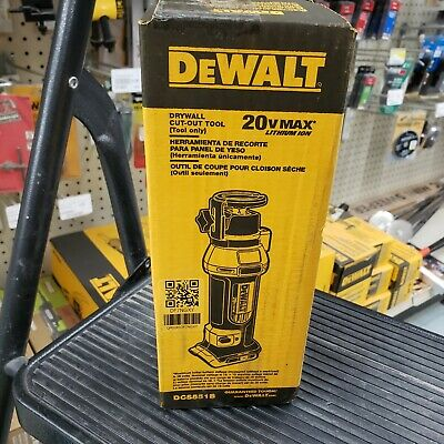 Dcs551b 20v Dewalt Drywall Cut-out Tool Bare Tool