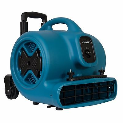 Xpower P-630hc 12 Hp Industrial Air Mover Carpet Dryer Blower W Handle