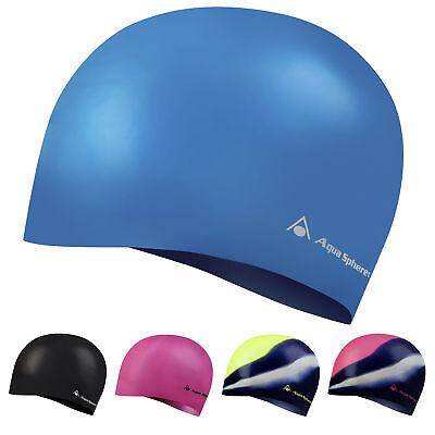 Aqua Sphere CLASSIC JR Junior Swimming Swim Cap UV for Kids Children Boys Girls Aqua Sphere Swim Cap