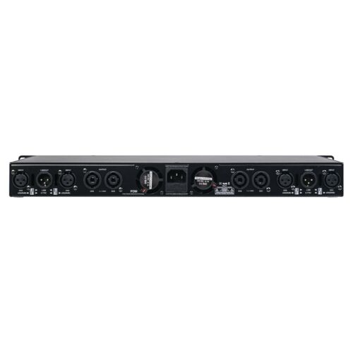Sound Town UPDM 1900W, Ultra-Lightweight, DJ PA 1U 4-Channel Amplifier ST-UPDM4C