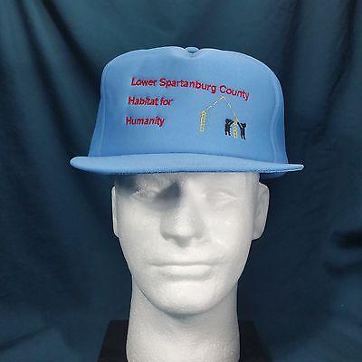 Habitat For Humanity Lower Spartanburg County Foam Snapback Trucker Cap Hat