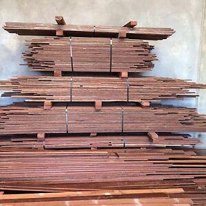 Jarrah floorboards reclaimed new decking & flooring hardwood timber
