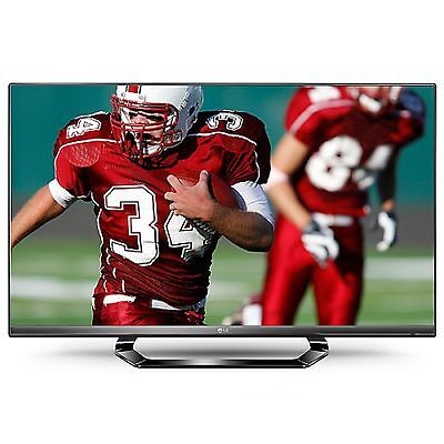 "LG 55LM6400 55"" Full 3D 1080p HD LED LCD Internet TV hdtv wifi 6 3D Glasses new on Rummage"