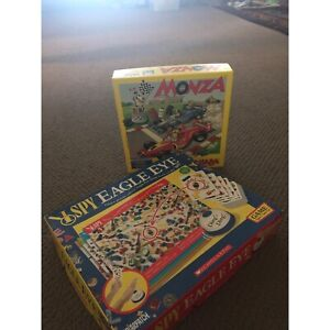 Monza & I Spy games, excellent condition, 5 yrs Chapel Hill Brisbane North West Preview