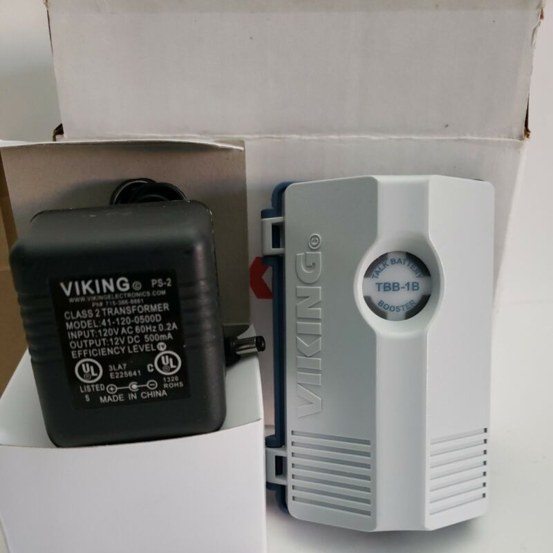 Viking TBB-1B Talk Battery Booster (to 48 VDC) / Loop Current Booster (to 26 mA)