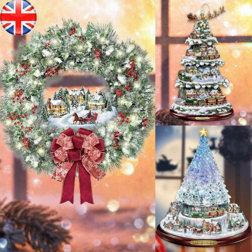 Home Decoration - Merry Christmas Xmas Window Santa Home Decor Wall Stickers Tree Santa Decal UK