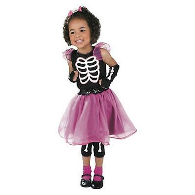 Skeleton Cutie Halloween Costume Medium 7-8