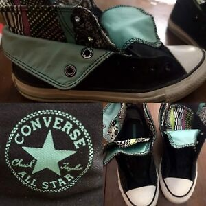 Ladies size 8 converse