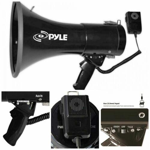 Aux Megaphone Speaker Bullhorn PA Speaker External Megaphone Speaker Wired New