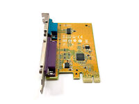 Sunix PCIe x1 Serial and Parallel Expansion Multi I//O Card P//N Dell 0GP385