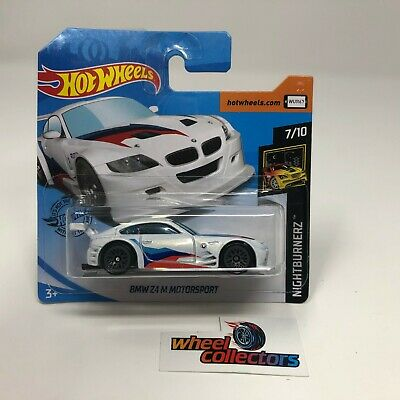 SHORT CARD * BMW Z4 M Motorsport * White * 2020 Hot Wheels Case J * HG1