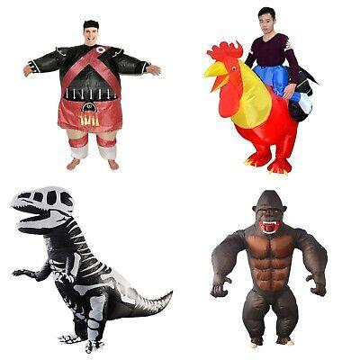 Aufblasbar Scotsman Huhn Hahn Dinosaurier Gorilla Kostüm (Jungen Aufblasbare Kostüm)